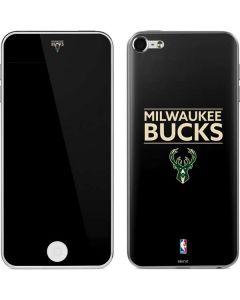 Milwaukee Bucks Standard - Black Apple iPod Skin