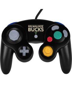 Milwaukee Bucks Standard - Black Nintendo GameCube Controller Skin