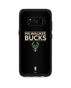 Milwaukee Bucks Standard - Black Otterbox Symmetry Galaxy Skin