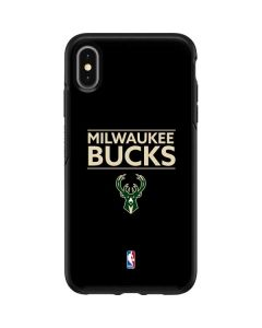 Milwaukee Bucks Standard - Black Otterbox Symmetry iPhone Skin