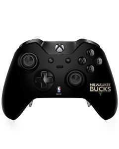 Milwaukee Bucks Standard - Black Xbox One Elite Controller Skin