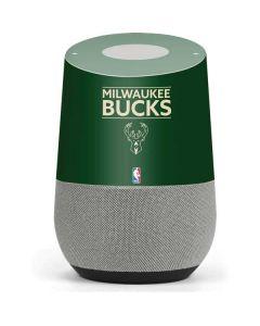 Milwaukee Bucks Standard - Green Google Home Skin