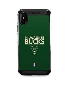 Milwaukee Bucks Standard - Green iPhone XS Cargo Case
