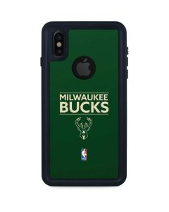Milwaukee Bucks Standard - Green iPhone XS Waterproof Case