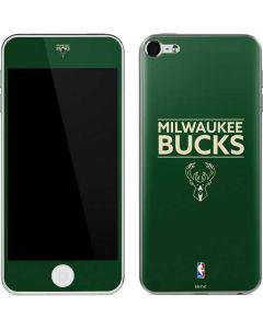 Milwaukee Bucks Standard - Green Apple iPod Skin