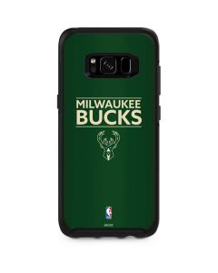Milwaukee Bucks Standard - Green Otterbox Symmetry Galaxy Skin
