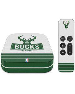Milwaukee Bucks Static Apple TV Skin