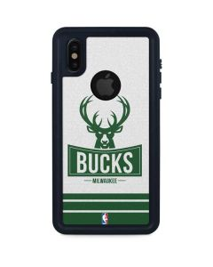 Milwaukee Bucks Static iPhone XS Waterproof Case