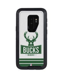 Milwaukee Bucks Static Otterbox Defender Galaxy Skin