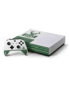 Milwaukee Bucks Static Xbox One S All-Digital Edition Bundle Skin