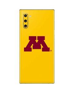 Minnesota Golden Gophers Galaxy Note 10 Skin