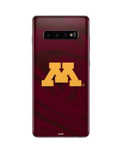 Minnesota Red Jersey Galaxy S10 Plus Skin