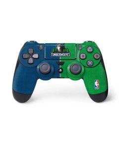 Minnesota Timberwolves Canvas PS4 Pro/Slim Controller Skin