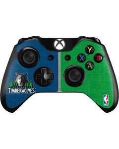 Minnesota Timberwolves Canvas Xbox One Controller Skin