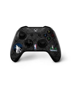 Minnesota Timberwolves Dark Rust Xbox One X Controller Skin