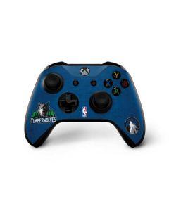 Minnesota Timberwolves Distressed Xbox One X Controller Skin