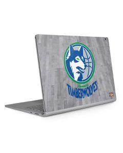 Minnesota Timberwolves Hardwood Classics Surface Book 2 13.5in Skin