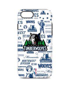 Minnesota Timberwolves Historic Blast iPhone 8 Pro Case