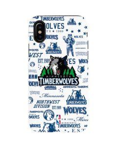 Minnesota Timberwolves Historic Blast iPhone X Pro Case