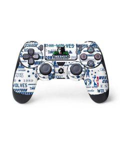 Minnesota Timberwolves Historic Blast PS4 Pro/Slim Controller Skin