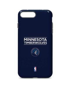 Minnesota Timberwolves Standard - Navy Blue iPhone 8 Plus Pro Case