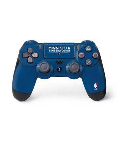 Minnesota Timberwolves Standard - Blue PS4 Controller Skin