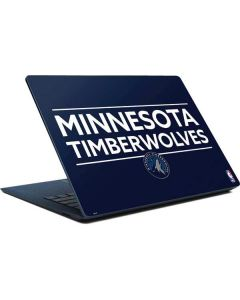 Minnesota Timberwolves Standard - Navy Blue Surface Laptop Skin