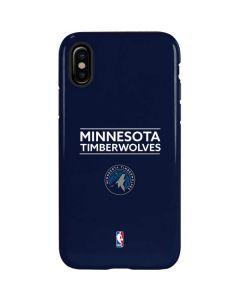 Minnesota Timberwolves Standard - Navy Blue iPhone X Pro Case