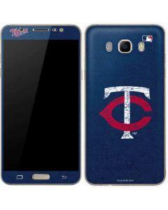 Minnesota Twins - Solid Distressed Galaxy J7 Skin