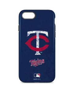 Minnesota Twins - Solid Distressed iPhone 7 Pro Case