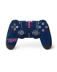 Minnesota Twins - Solid Distressed PS4 Controller Skin
