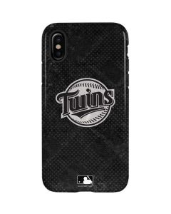 Minnesota Twins Dark Wash iPhone X Pro Case
