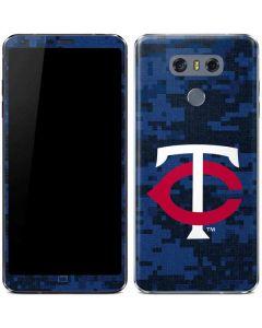 Minnesota Twins Digi Camo LG G6 Skin