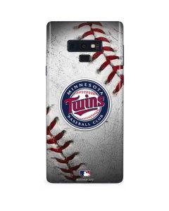 Minnesota Twins Game Ball Galaxy Note 9 Skin