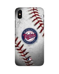 Minnesota Twins Game Ball iPhone X Lite Case