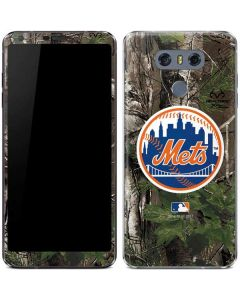New York Mets Realtree Xtra Green Camo LG G6 Skin