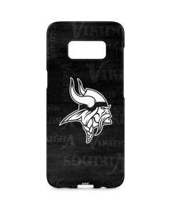 Minnesota Vikings Black & White Galaxy S8 Plus Lite Case