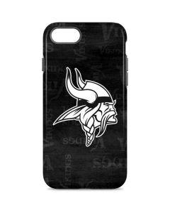 Minnesota Vikings Black & White iPhone 7 Pro Case