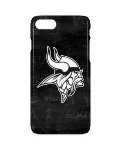 Minnesota Vikings Black & White iPhone 8 Lite Case