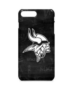 Minnesota Vikings Black & White iPhone 8 Plus Lite Case