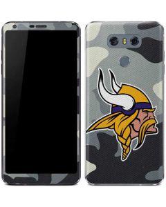 Minnesota Vikings Camo LG G6 Skin