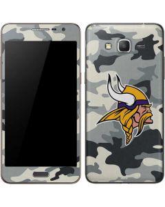Minnesota Vikings Camo Galaxy Grand Prime Skin