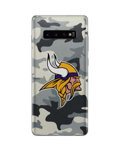 Minnesota Vikings Camo Galaxy S10 Plus Skin