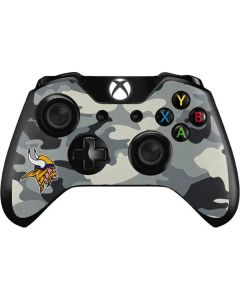 Minnesota Vikings Camo Xbox One Controller Skin