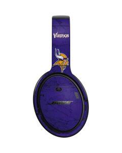 Minnesota Vikings Distressed Bose QuietComfort 35 Headphones Skin