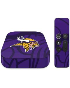 Minnesota Vikings Double Vision Apple TV Skin