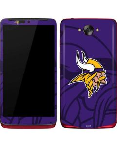 Minnesota Vikings Double Vision Motorola Droid Skin