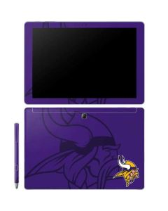 Minnesota Vikings Double Vision Galaxy Book 10.6in Skin