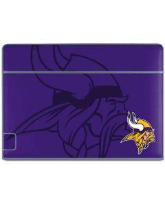 Minnesota Vikings Double Vision Galaxy Book Keyboard Folio 10.6in Skin