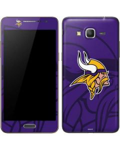 Minnesota Vikings Double Vision Galaxy Grand Prime Skin
